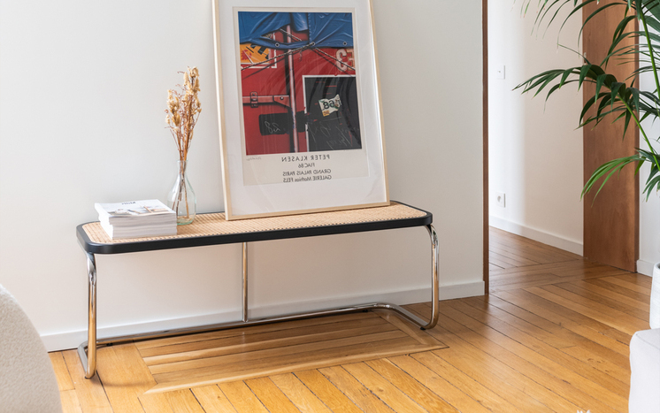 Our iconic Panchina Bench