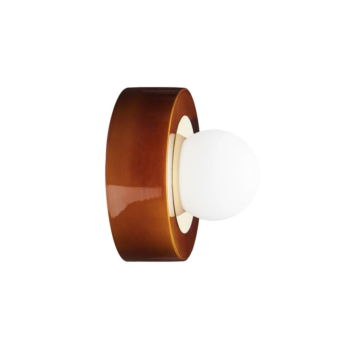TSF + HAOS Wall Lamp 3.02, Cognac