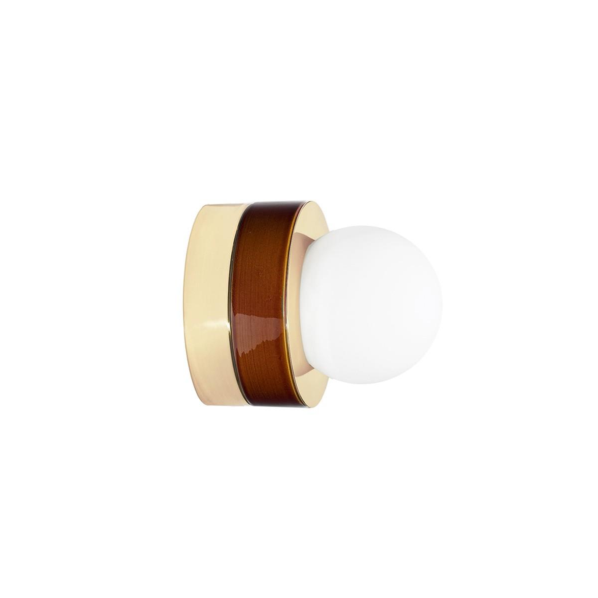 TSF + HAOS Wall Lamp 3.01, Cognac