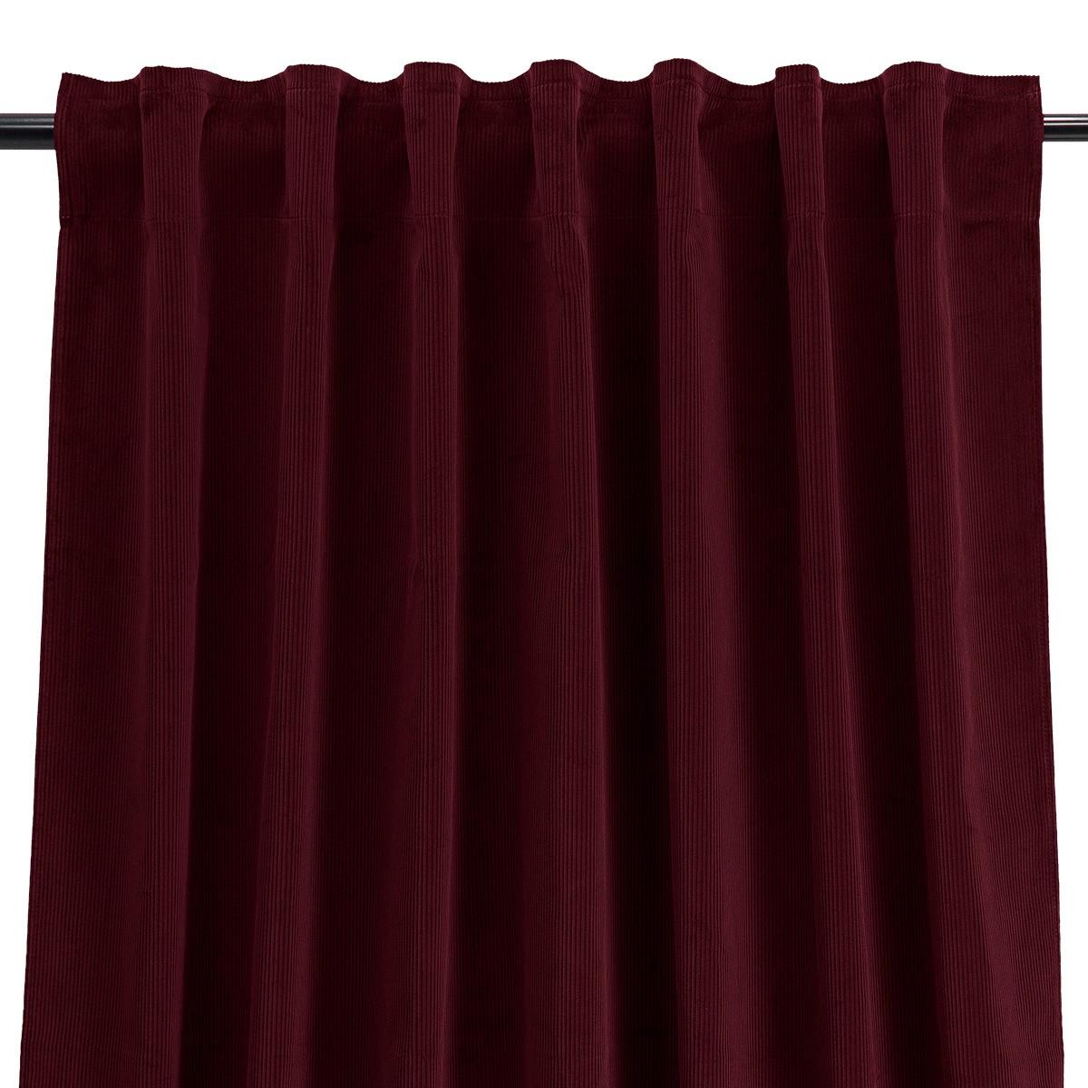 Palazzo Curtain, Plum-Colour