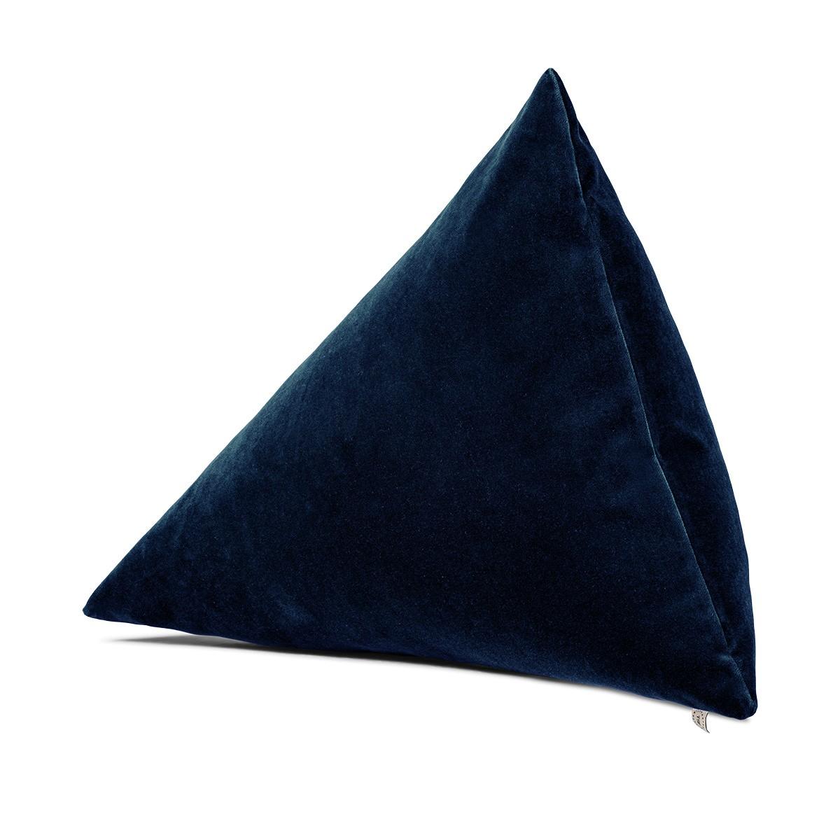 Divino Cushion, Navy Blue Velvet