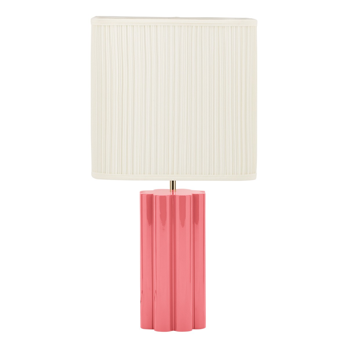 Gioia Table Lamp, Pink