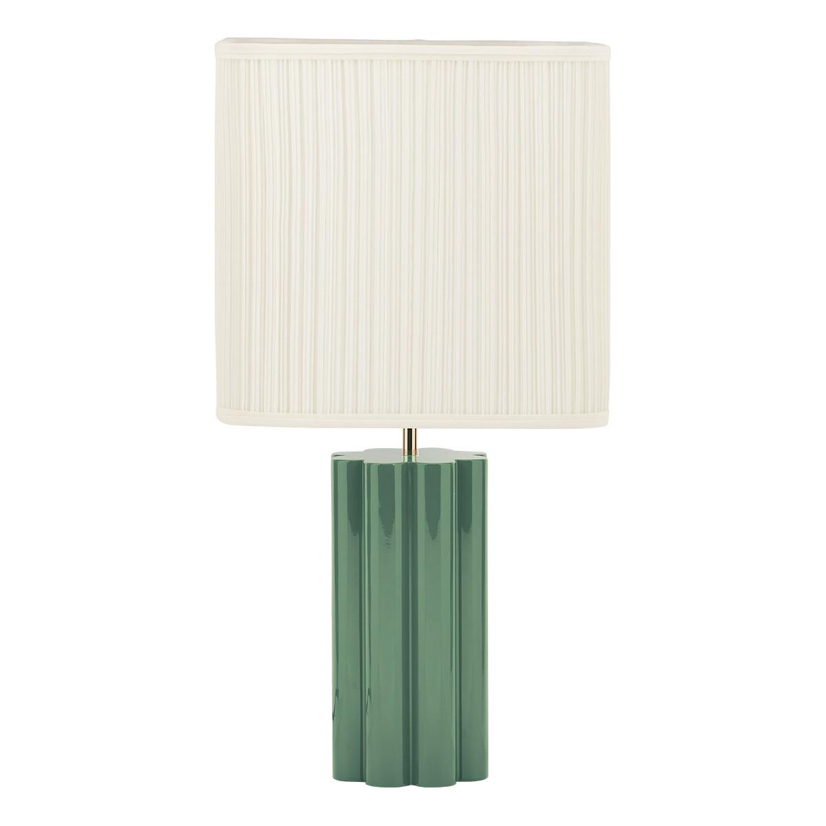 Gioia Table Lamp, Almond Green