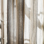 Portofino Curtain, Natural and Black Striped