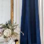 Palazzo Curtain, Navy Blue