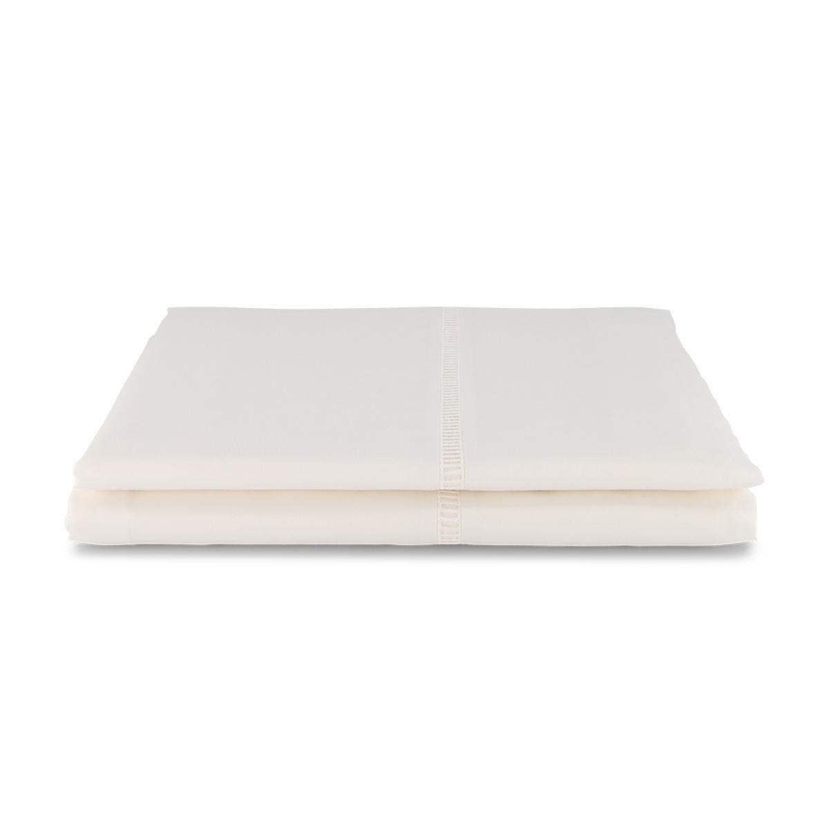 Venezia Flat Sheet, Cream White