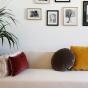 Bomboloni Cushion, Grey Velvet
