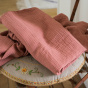 Como Fitted Sheet Pink