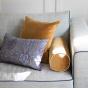 Carino Cushion Mustard Velvet