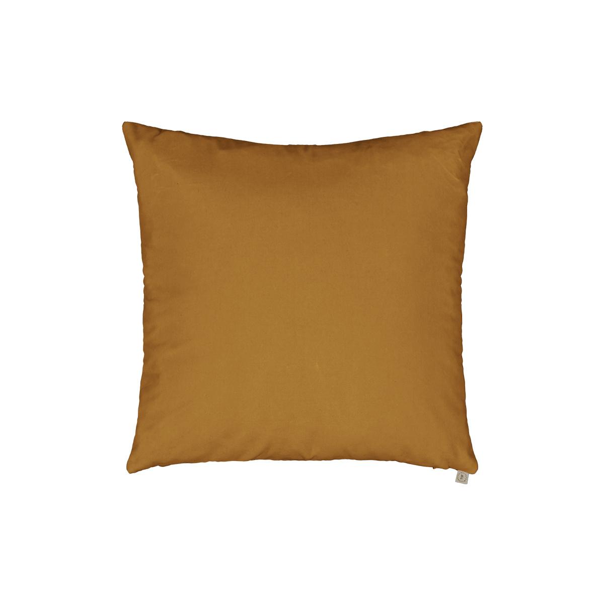 Nonna Cushion Mustard Velvet