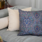 Carino Cushion Beige Velvet