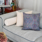 Nonna Cushion Beige Velvet