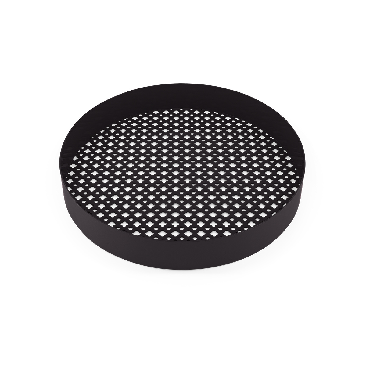 Matteo black platter