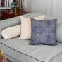 Adri Cushion Beige velvet