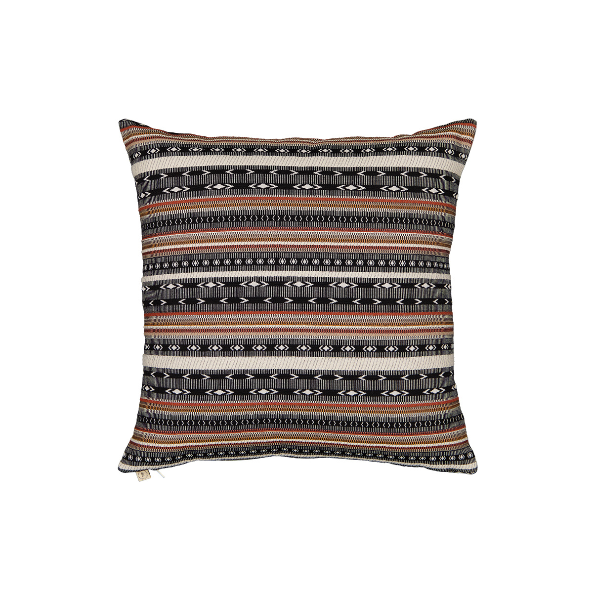 Viaggio Cushion Black print