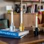 Candela golden candle holder