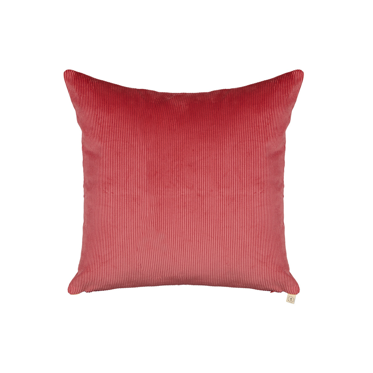 Carino pink corduroy cushion