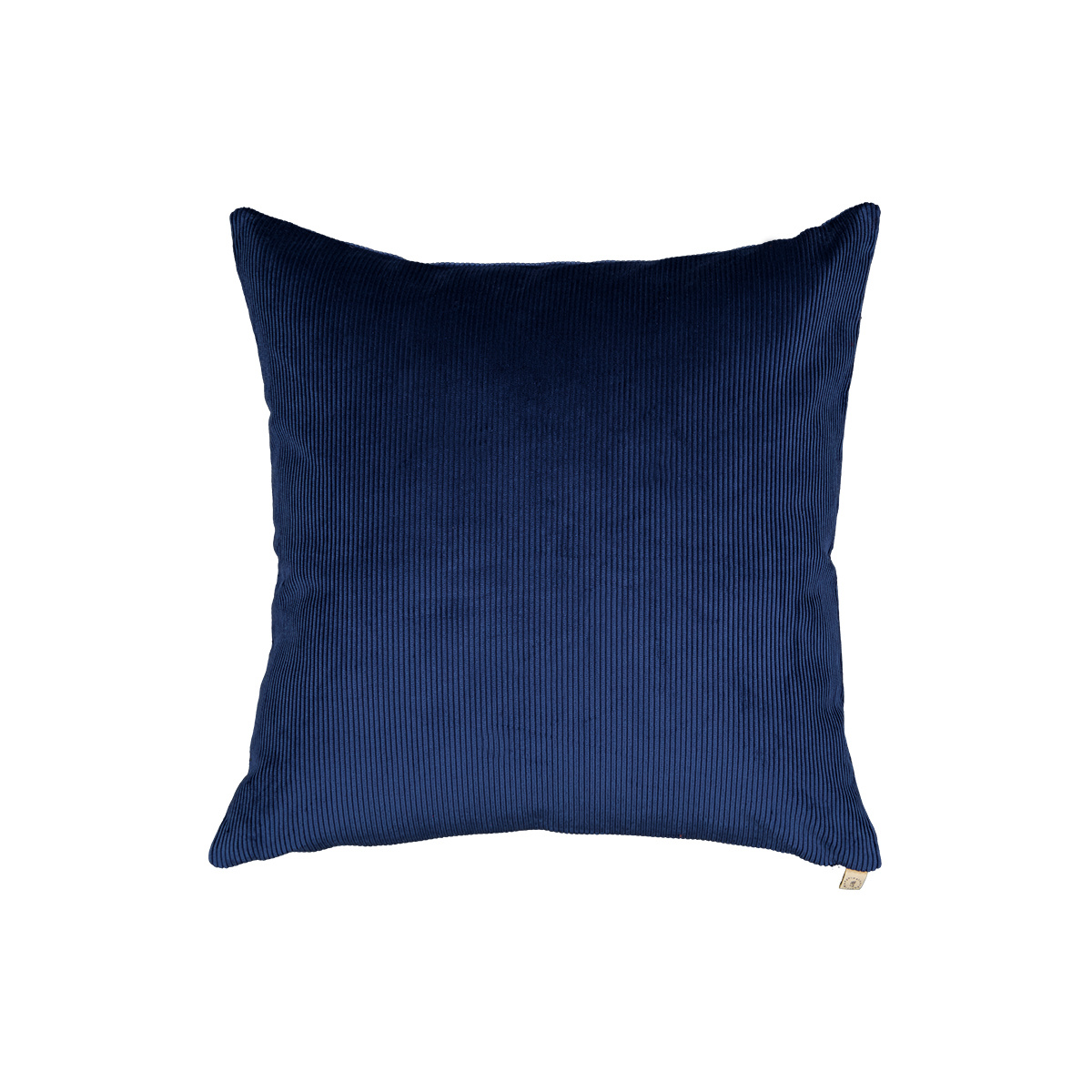 Carino navy blue corduroy cushion
