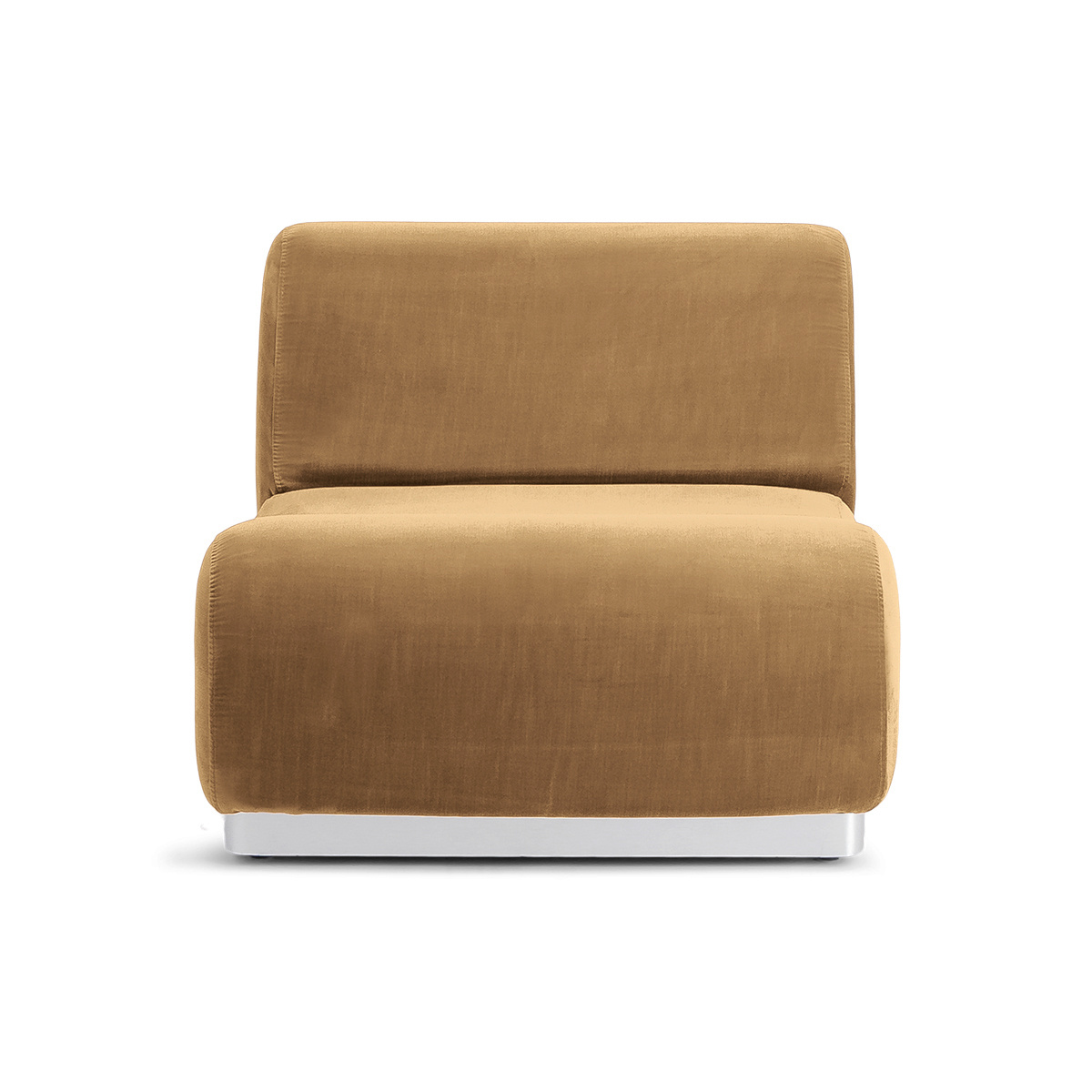 Rotondo Fireside Chair in Cappuccino Velvet
