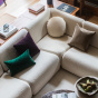 Rotondo Plum Velvet Cushion