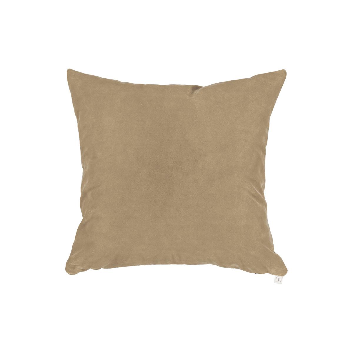 Rotondo Camel Velvet Cushion