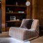 Rotondo Modular Sofa in Camel Velvet
