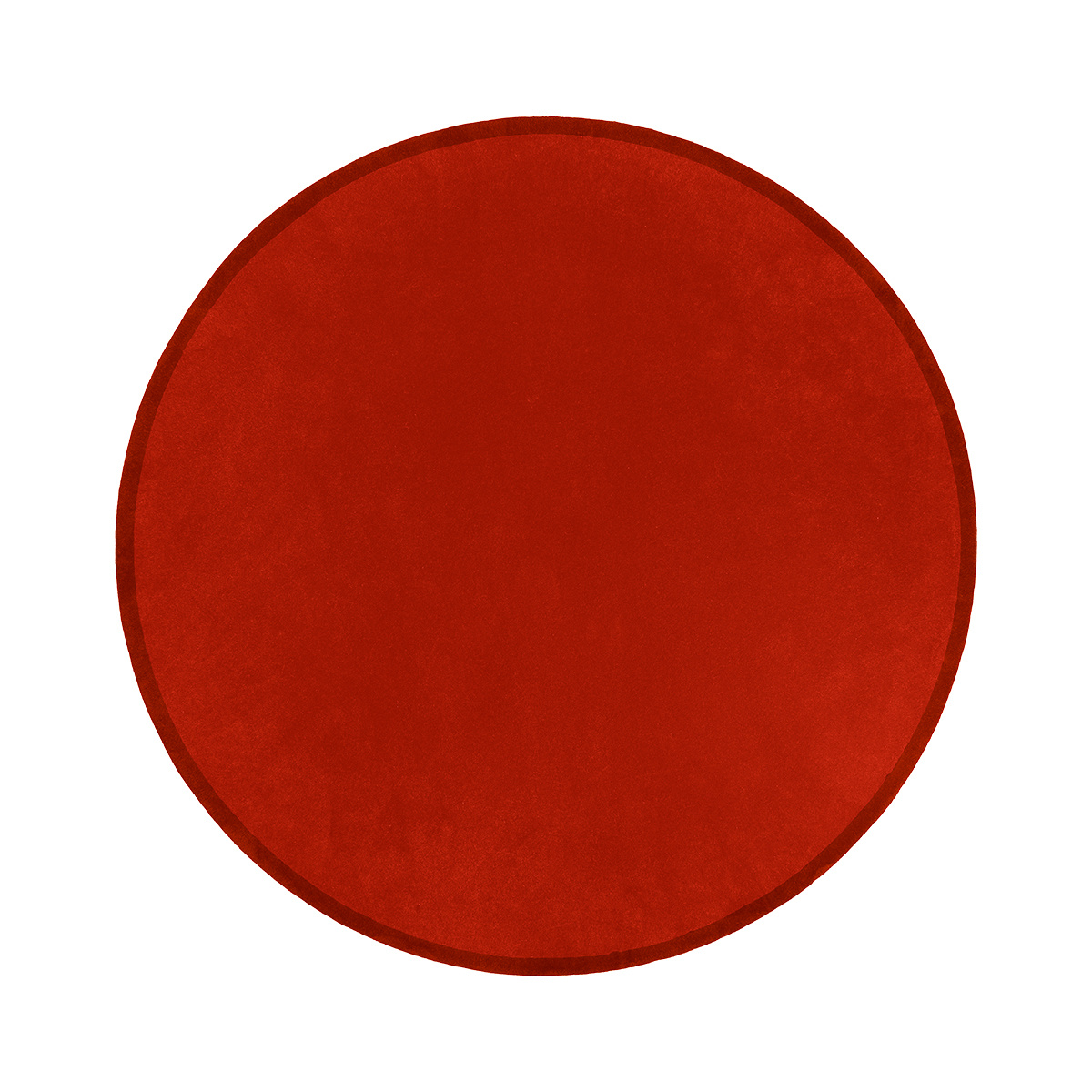 Luna Clay Red Round Rug