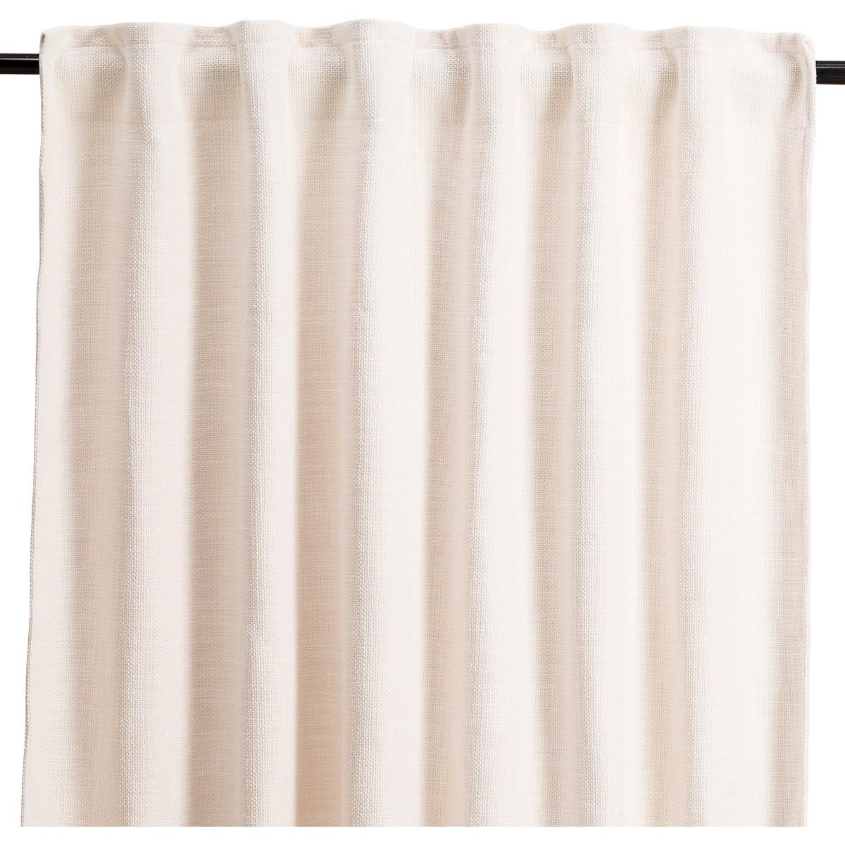 Cream White Materia Curtain