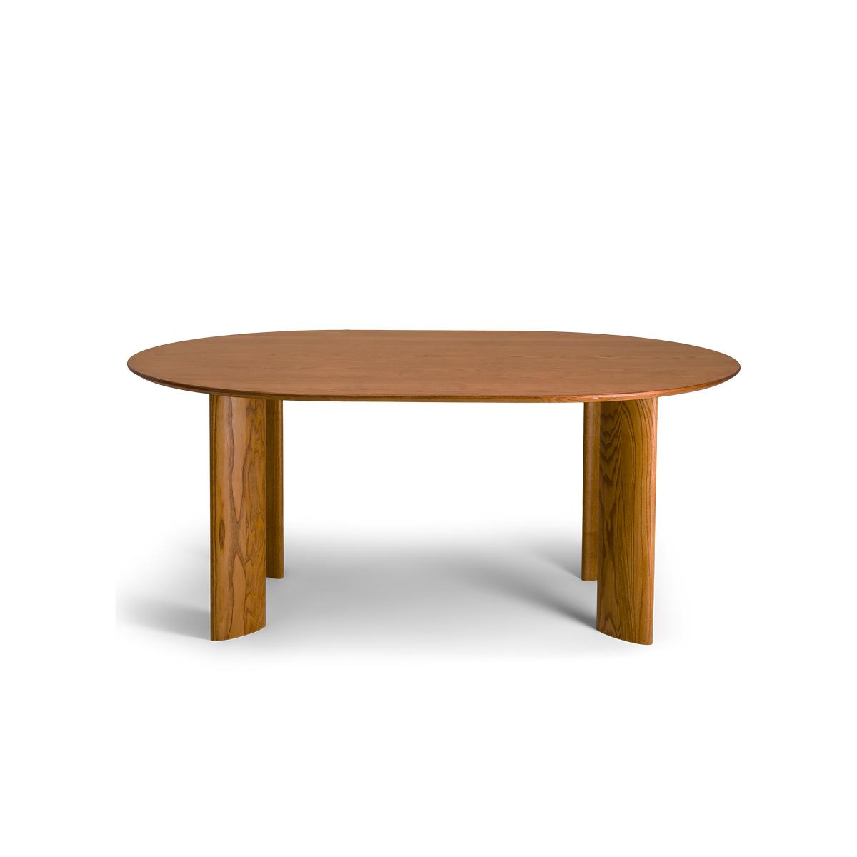 Carlotta Alta Oval Wooden Table - 6 seats