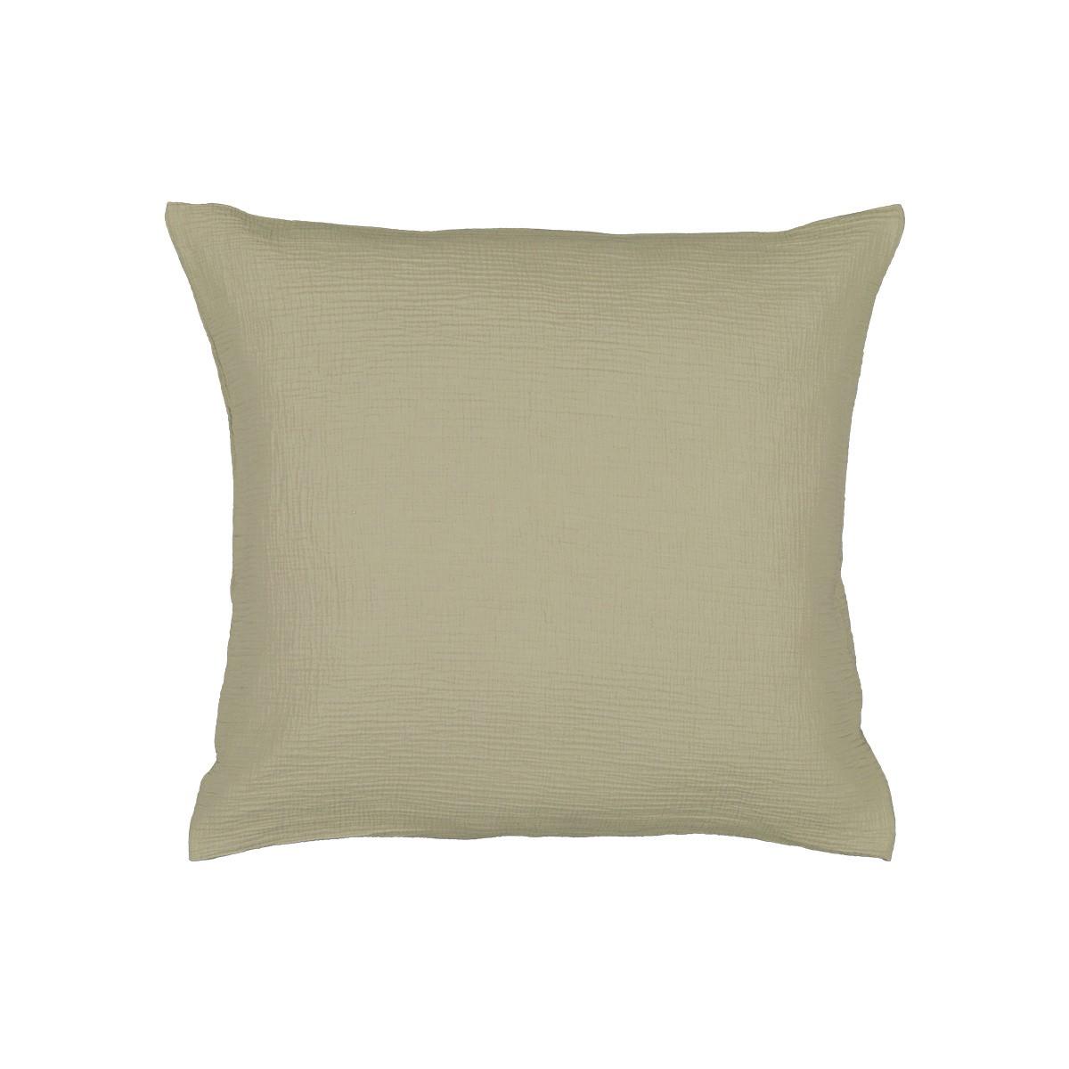 Como Pillowcase Water Green