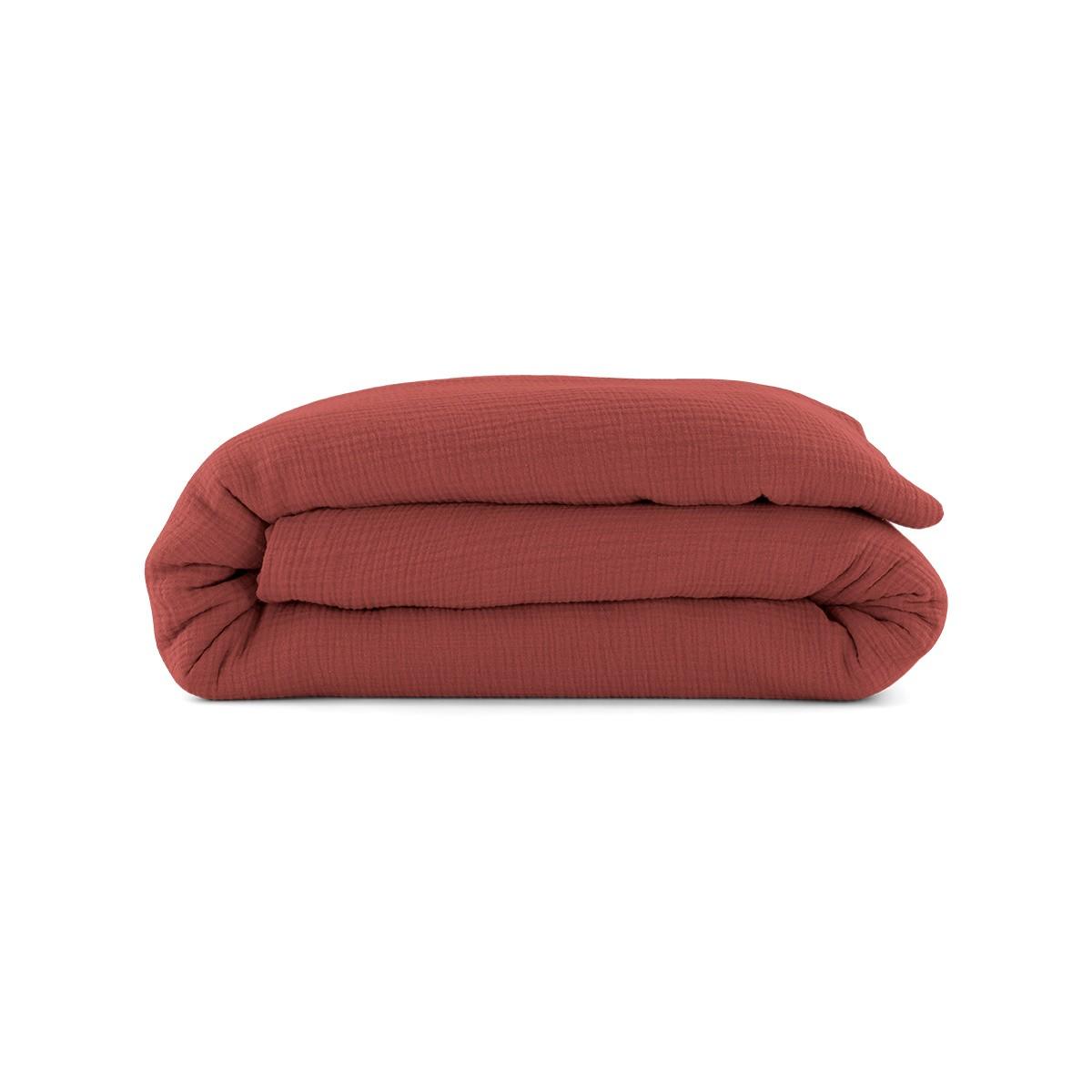 Como Duvet Cover Brick Red