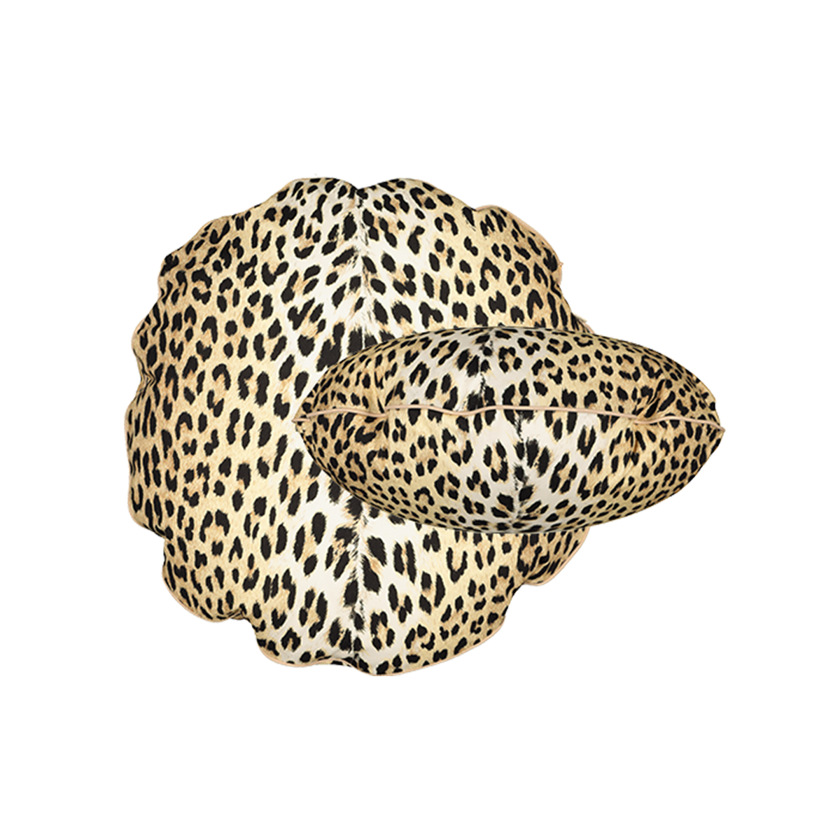 Bomboloni Cushion, Panther Print