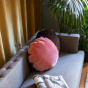 Bomboloni Cushion, Pink Velvet