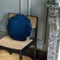 Bomboloni Cushion, Navy Blue Velvet