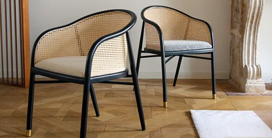 Armchair & chair