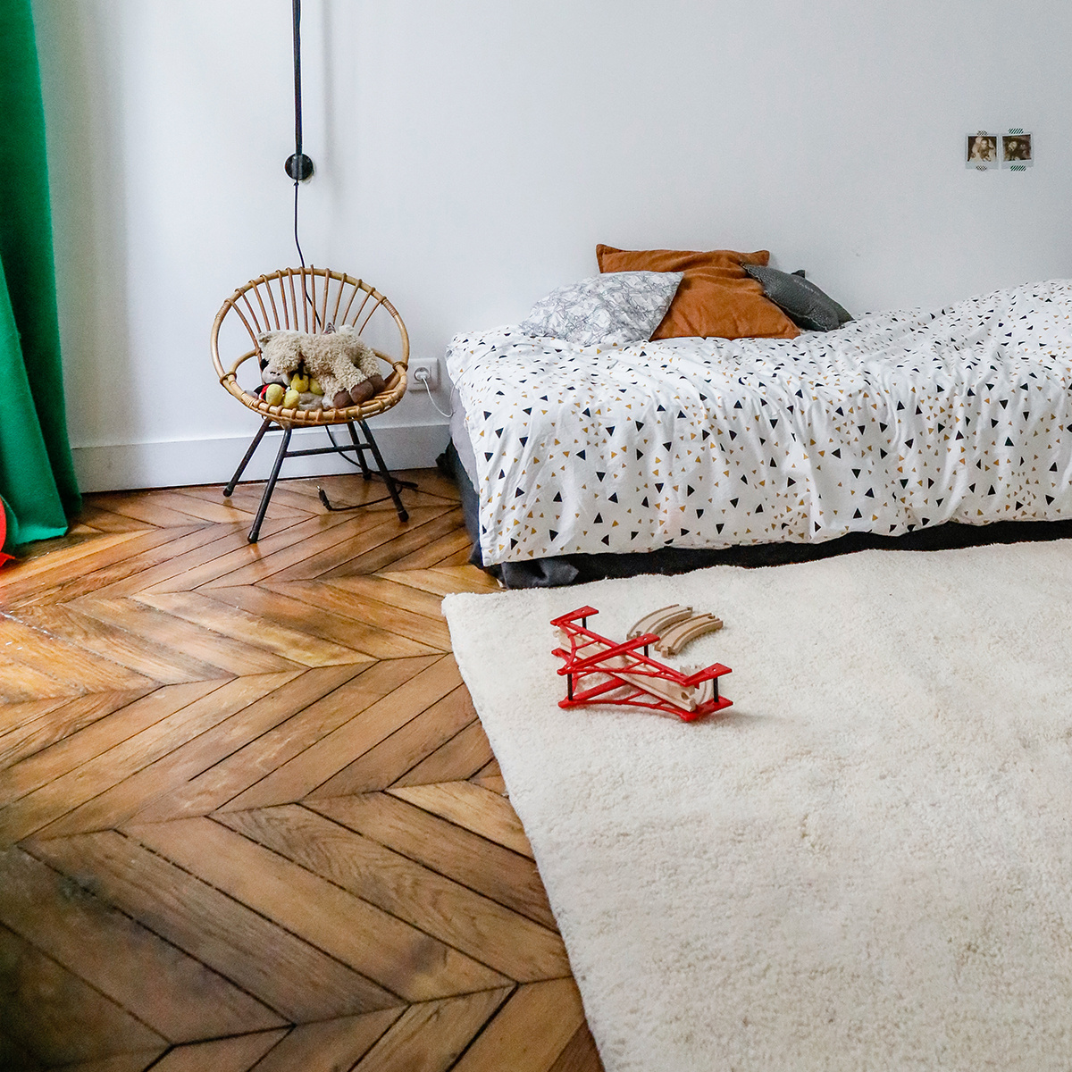 tapis en laine blanc cass 150 x 200 velluto the. Black Bedroom Furniture Sets. Home Design Ideas