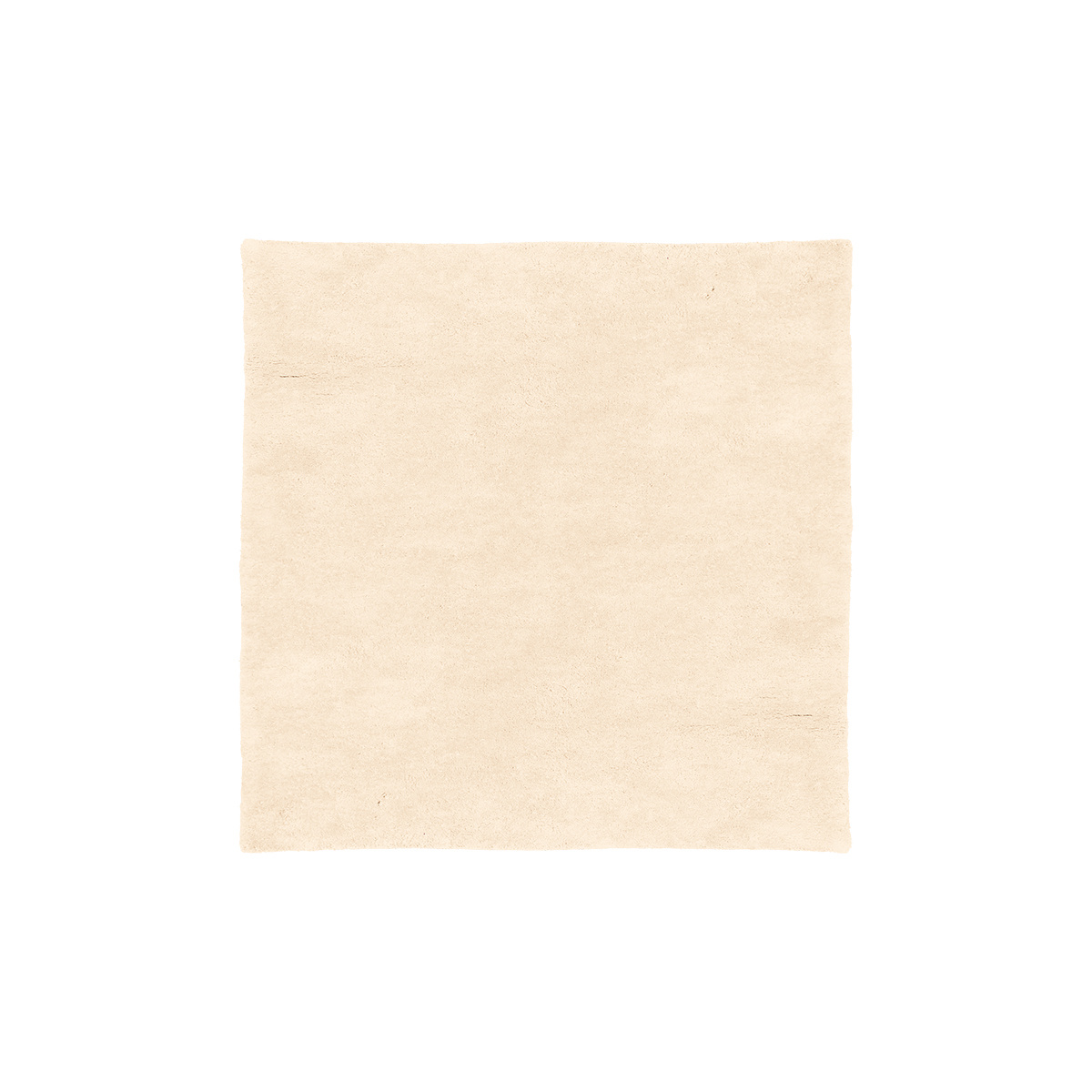 Tapis Velluto blanc cassé 200 x 200