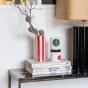 Pot Domino petit modèle motif noir et vert