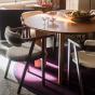 Table de salle à manger ronde Carlotta Alta