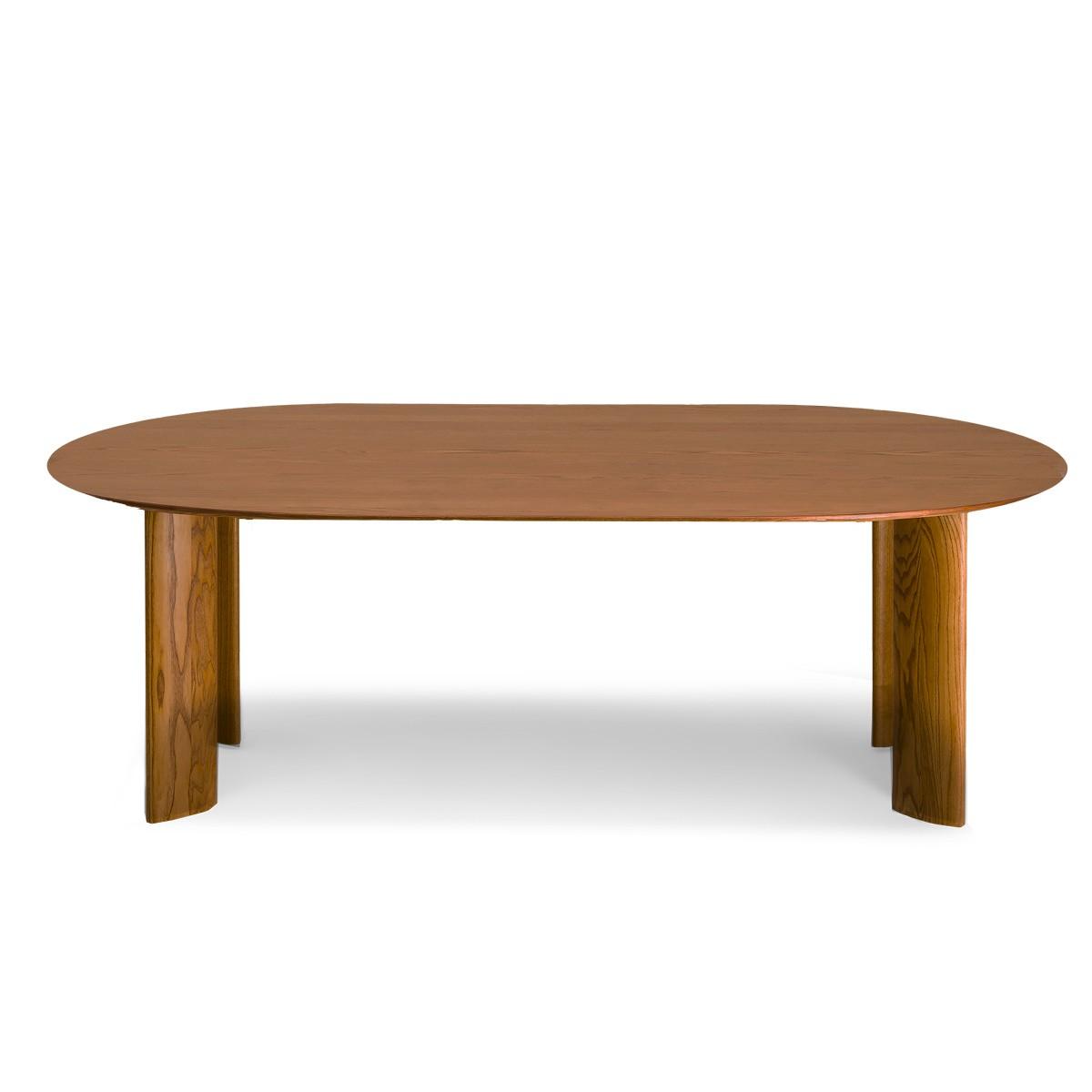 Table de salle à manger ovale Carlotta Alta - 8 places