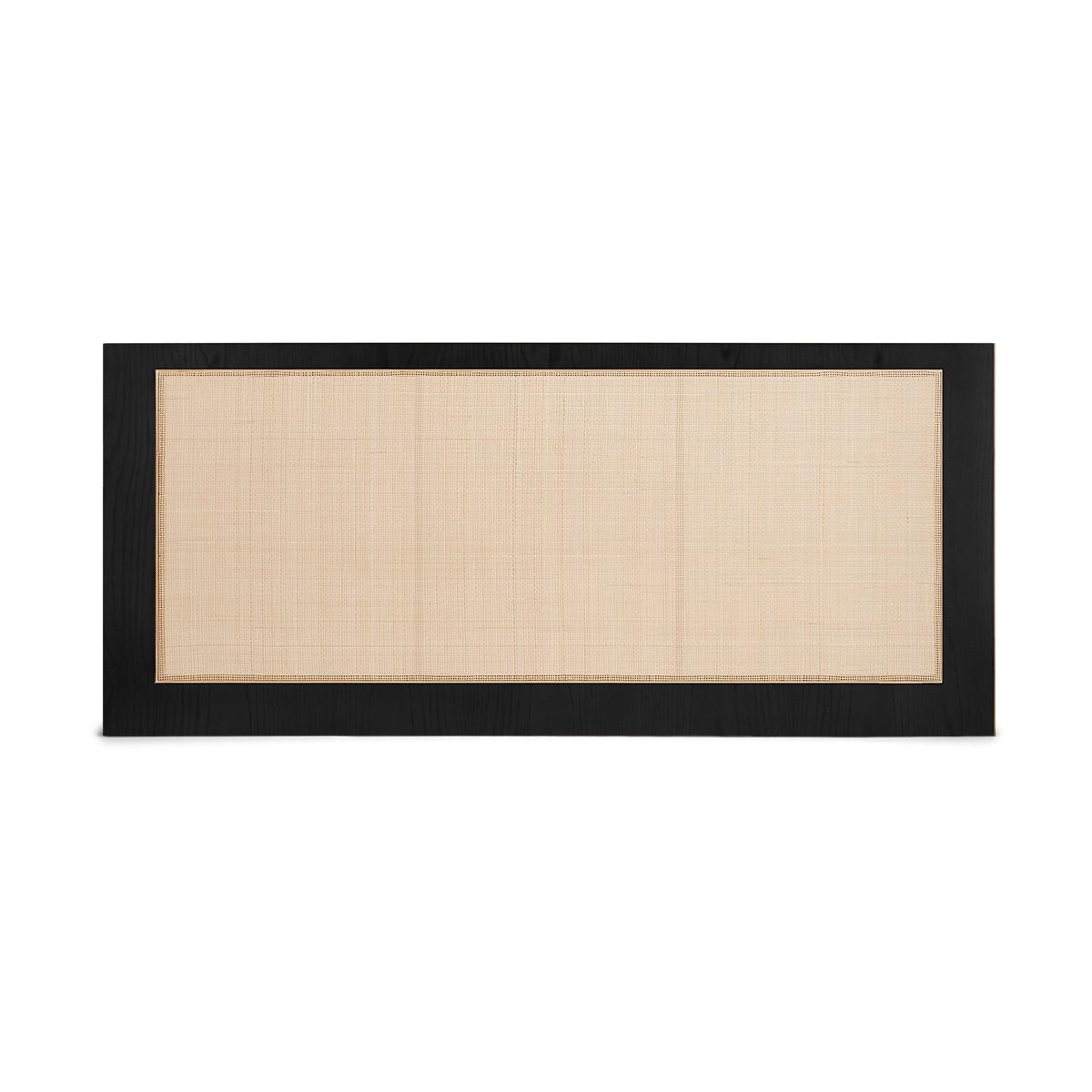 Tête de lit Sogno noire 190 cm