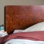 Tête de lit Renato en loupe d'orme 170 cm