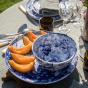 Assiette de présentation Bolle bleue